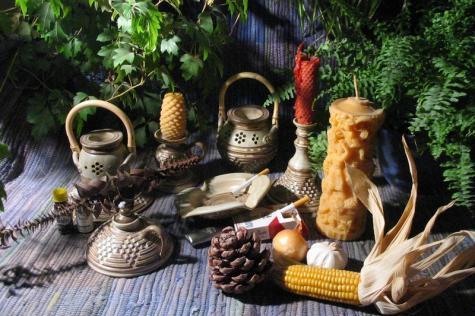 Aromaterapie a keramika