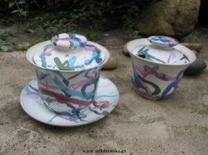 Gaiwan z keramiky