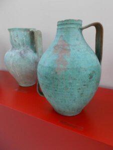 Portugalský šálek keramiky