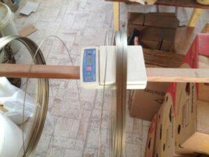 Výměna spirál v keramické poklopové peci