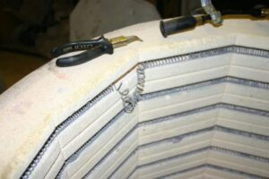 Opravy keramických pecí svépomocně