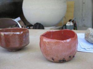 Japonská RAKU keramika z Japonska