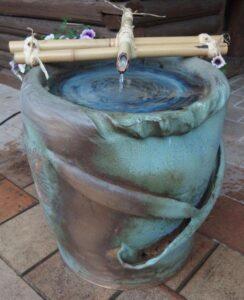 Keramická fontána