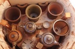 Kompaktní dřevopec na výpal keramiky – ARTkeramika & Kittec