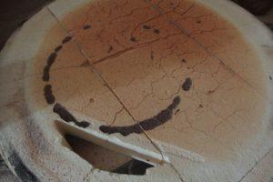 Alternativní oprava víka keramické pece na PB