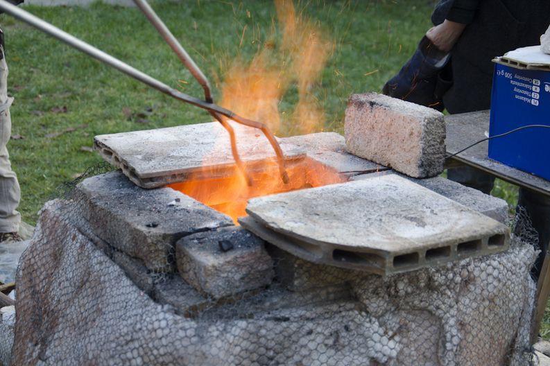 Tečící pec Černoraku