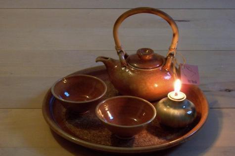 Čajová keramika-alchymie ohně a hlíny