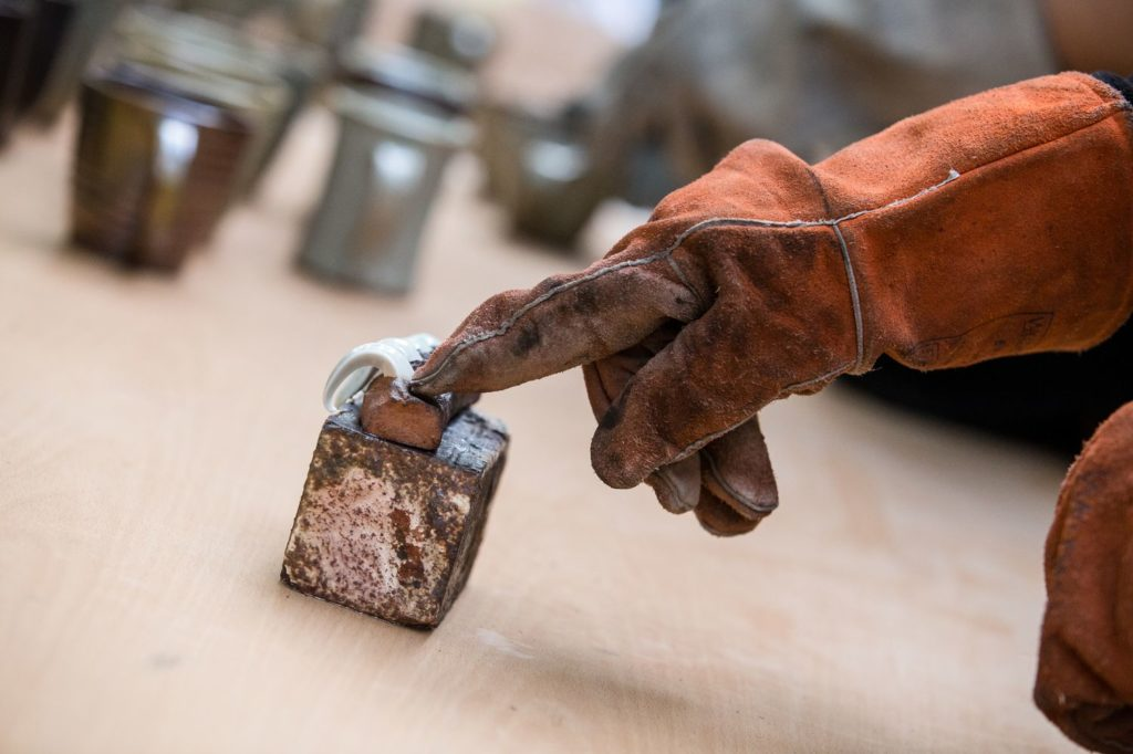 rukavice na keramiku