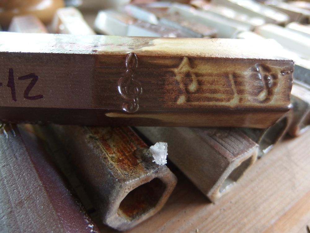 Ropuší Jakl z keramické pece