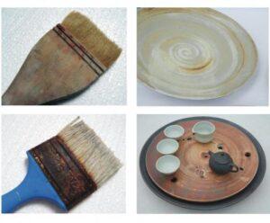 Kaligrafický nebo stačí jakýkoliv štětec na keramiku?