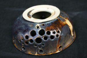 Ga – aventurinové bezolovnaté glazury na keramiku