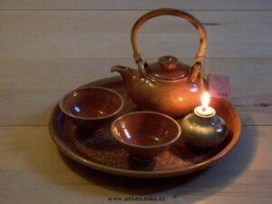 Čajová keramika-alchymie ohně a hlíny, Autor: Petr Novák
