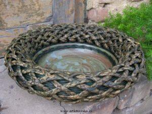 Keramika + pedig a přírodní materiály
