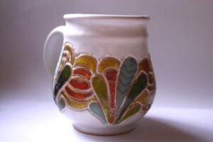 Pw 185 – bílá krycí zirkonová bezolovnatá glazura na keramiku
