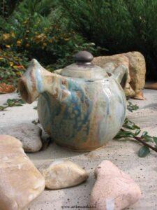 Zelený čaj do keramiky