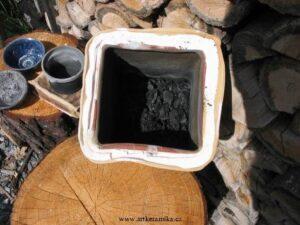 Sagar hrou – mufle naruby – pálení keramiky