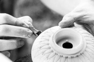 Dózy v keramice